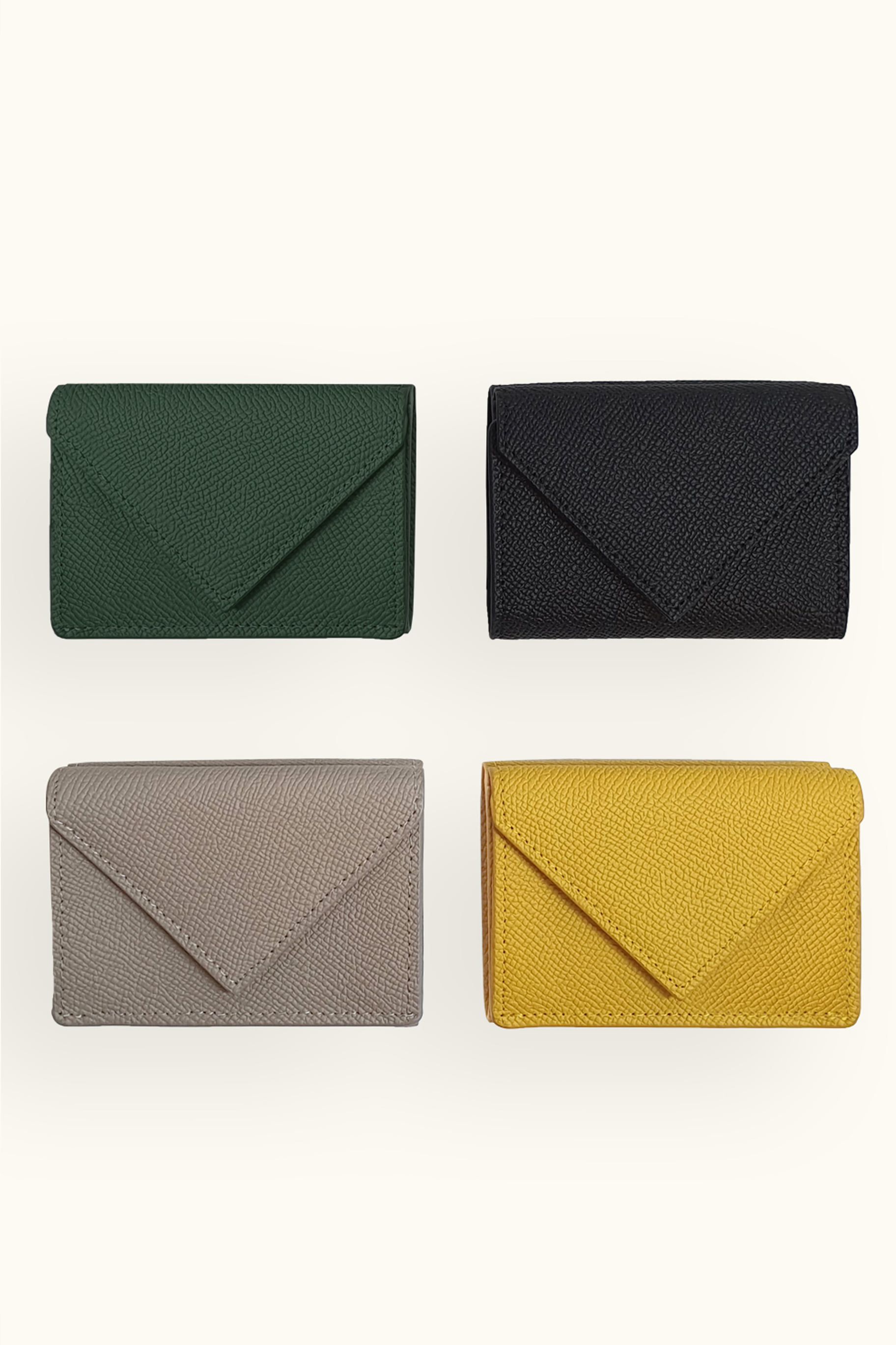 Letter Compact Wallet